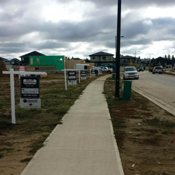 Realty Execs Sign  Rental Installs - Development